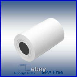 2 1/4 x 70' BPA Free Thermal Receipt Paper Ingenico iCT250 & Verifone 300 Rolls
