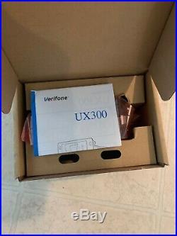 2 X Veri-Fone EMV Ux-300 Secured Card Reader Flex Pay4