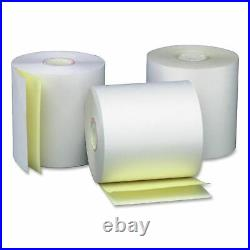 3 in. X 95 ft. White/Canary (50 Rolls), Works for Unisys EF4560, Verifone Pri