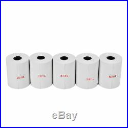 500 Rolls 2-1/4 x 50' Thermal Credit Card Paper for Ingenico, Verifone, Nurit