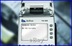 BRAND NEW VERIFONE Vx520/EMV-ENABLED. 12 MONTHS WARRANTY