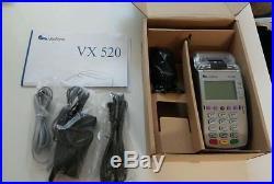 BRAND NEW VeriFone Vx520 EMV (chip card) P/N M252-753-03-NAA-3 UNLOCKED
