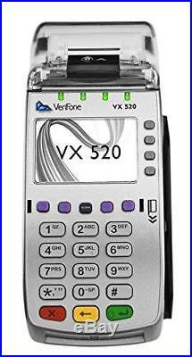 Brand New VeriFone Vx520 EMV Contactless Credit Card Terminal