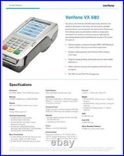 Brand New Verifone VX680 3G USA 192M