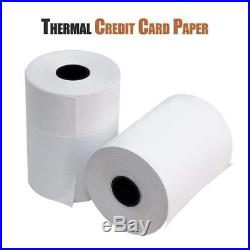 E-Tech 2 1/4 X 85' Thermal Credit Card Paper 50 Rolls/Box for Verifone