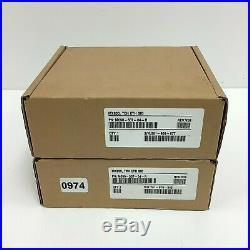 LOT OF 2 VeriFone MX830 POS Pinpad Credit Card Payment Terminal