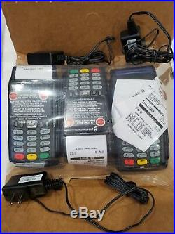 Lot of 3 Verifone VX 675 Global Payments Card Payment Terminal POS AS IS