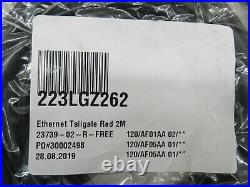 Lot of 5 VeriFone 23739-02-R Ethernet Tailgate with USB Cable