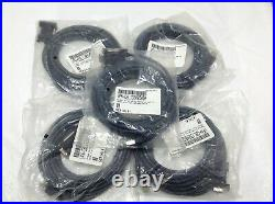 Lot of 5 VeriFone CBL132-005-05-A (MX900) Externally Powered Serial Cable, 5M