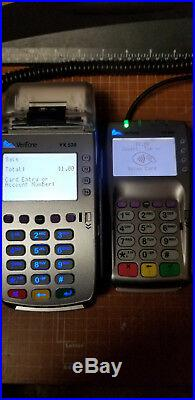 Lot of (8) VeriFone VX 520 and Lot of (7) VX 805 Pin pad & EMV reader