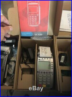 Lot of Four (4) Verifone VX 520 Two used/Two open box