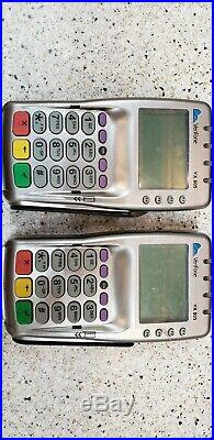 Lot of two Verifone VX805