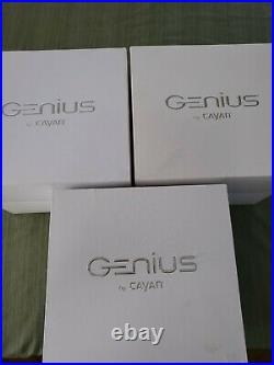 MX925 Genius by Cayan Verifone Credit Card Terminals lot of 3 units