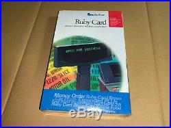 NEW GENUINE Verifone P040-07-508 Rev G Ruby Card with HPV-20 Expanded PLU