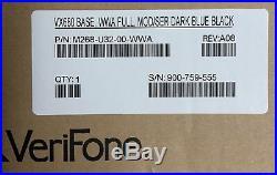 NEW VeriFone VX680 Full Featured Base M268-U32-00-WWA Dark Blue Black SEALED
