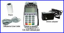 NEW Verifone VeriFone VX-520 DualCom CTLS NAA 128/32 MB with Chip Reader