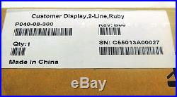 New Updated Style Verifone Ruby Customer Display P040-08-300