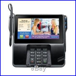 New VERIFONE MX925 Credit Card Machine, includes Stand, Stylus I/O block and PWR