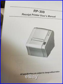 New VeriFone P040-02-020 RP-300 / 310 Thermal Receipt Printer Ruby Topaz XL