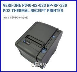 New VeriFone P040-02-030 RP-330 Thermal Receipt Printer Ruby Topaz XL
