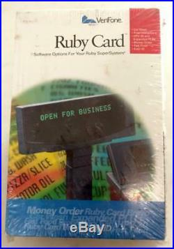 New VeriFone Ruby Card HPV-20 Car Wash Proprietary P040-07-506 Expanded PLU Card