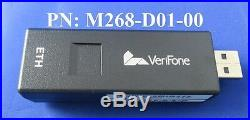 New VeriFone VX680 External Modem Ethernet Internet Dongle M268-D01-00