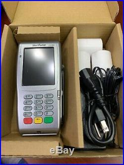 New VeriFone Vx680 3G EMV Smart/Chip card NFC Contactless