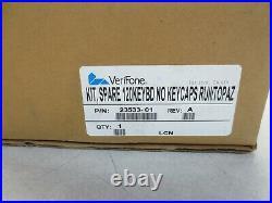 New Verifone 19229-01 Topaz & Ruby Cpu4/cpu5 120-key Replacement Keyboard