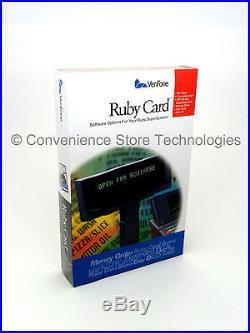 New Verifone Ruby Card P040-07-508 PLU Sapphire V950