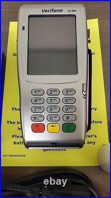 New Verifone VX680 3G Wireless EMV Contactless Pin Pad Card Reader