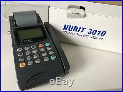 Nurit 3010 wireless credit card terminal