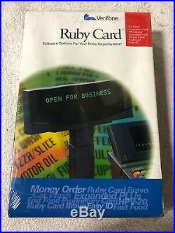 P040-07-506 Verifone Ruby Card Car Wash & Prop