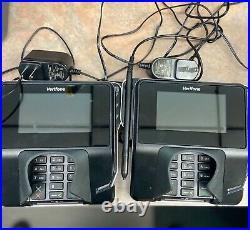 TWO identical Verifone MX915 Credit Card Terminal used less than 1 week