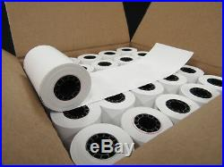 Thermal Paper Rolls for Verifone Credit Card Receipt Printers, 2 Cases-100 Rolls