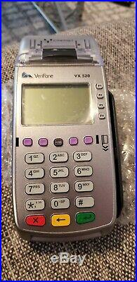 UNLOCKED VeriFone Vx520 Credit Card Machine #M252-153-03-NAA-2 Lot of 10
