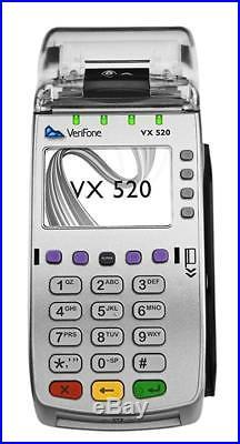 Unlocked Brand New VeriFon Vx520 EMV, Credit Card Machine