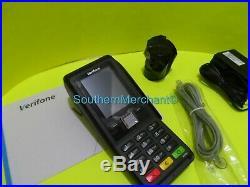 V200C Plus, CTLS, NAA Non-Touch, DE STD KPD 512/512MB, Dial, Ethernet, BT, WIFI