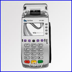 VERIFONE VX520 DUAL COMM With EMV-NFC Credit Card Machine Contacless APPLE PAY