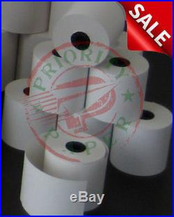 VERIFONE vx520 (2-1/4 x 50') THERMAL RECEIPT PAPER 300 ROLLS FREE SHIPPING