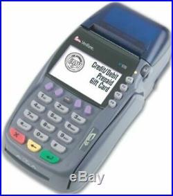 VeriFone M257-000-02-NAA Model Vx 570 Countertop Credit Card processor, 6 MB