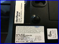 VeriFone MX915, LOT of 4 incl I/O Port Module, USB Cable, Stylus, Power Adaptor
