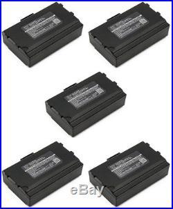VeriFone Nurit 8400 PCI COMPLIANT Combo Pack of 5 Batteries