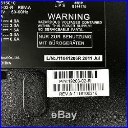 VeriFone Ruby External Power Supply Brick UP10515010 19203-02-R Rev A With Cable