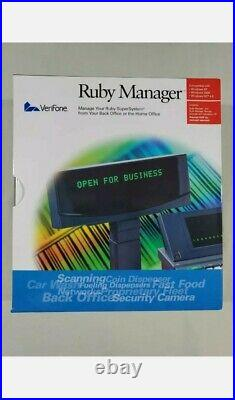 VeriFone Ruby Manager v. 1.32 with Parallel HASP Key and Manual