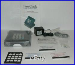 VeriFone Tranz 380 NEW Time Clock with Time Cards, Adapter, Cords, Manual