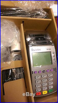 VeriFone VX 520 Dual Com 160Mb EMV 3.0, NEW credit card terminal