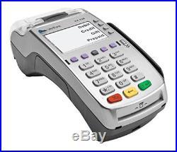 VeriFone VX 520 Dual Com 160 Mb Credit Card Machine, EMV Europay, MasterCard, V