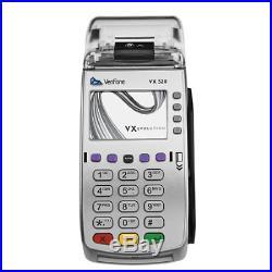 VeriFone VX 520 Dual Com 160 Mb Credit Card Machine, EMV Europay, MasterCard, or