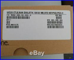 VeriFone VX 520 M252-653-A3-NAA-3 Credit Card Payment Processing Terminal