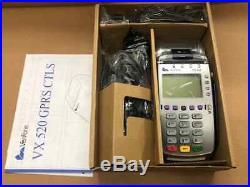 VeriFone Vx520 GPRS EMV Credit Card Machine WIRELESS #M252-773-D3- LAB-3